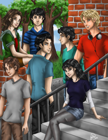 The Seven Chosen by juliajm15