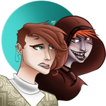 Siins and Emem by obbeluff
