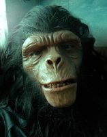PLANET OF THE APES  CHIMP MAKE-UP by Legrande62