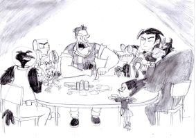 Team Flux Villains Poker Night by BreakoutKid