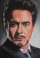 Robert Downey Jr. by ArtisticJv2
