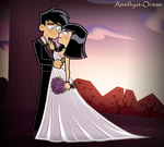 DP: Wedding photo (Commission) by Amethyst-Ocean