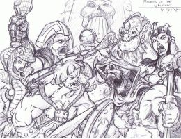 Masters of the Universe by NM8R-KJC