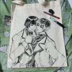 Tokyo Ghoul tote bag commission by darkn2ght
