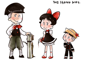 Isono children by Cindysuke