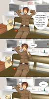 How Romano Stole Christmas: You're an idiot! by Talawolf2014