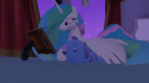 [SFMGIF] Celestia And Luna by Moonight118