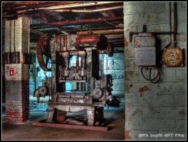 Steel Press in HDR by nickinglis