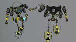 Mech - Titan 9 ( Recolor ) by Plateal