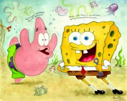 Spongebob Bring It Around Town by AthenaTT