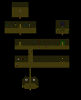 Ib map: Hanging Doll Rooms by WhatTheAwesomeIsThis