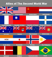 Allies of WW2 by Rory-The-Lion