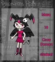 BHH: Mara app by to-much-a-thing