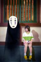 Spirited away : Waiting by Ika-xin