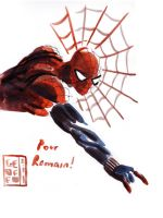 LCF Sketches - Spiderman by Geoffo-B