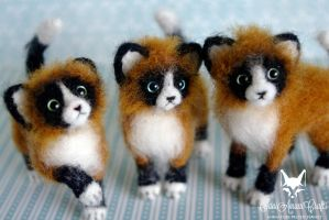 Kittens by SaniAmaniCrafts