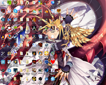My current desktop 4 by Pharaoh-Yami
