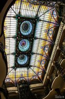 Stained glass Gran Hotel de la Ciudad de Mexico by slashero