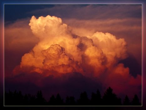 Clouds...or Explosion? II by gremlinner