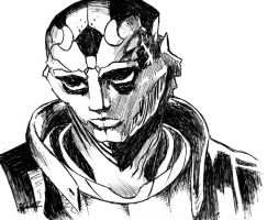 Thane Krios by ZacharyFeore