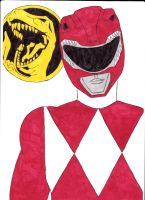 Mighty Morphin' Power Rangers 01 Red Ver. 1 by SeptimusParker