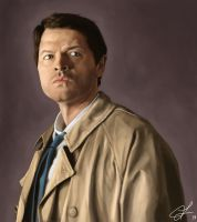 Supernatural's Castiel by hammn