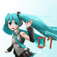Miku no.1 ! by MrPloxyKun