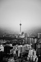 Milad Tower by rezA-Bahramizade