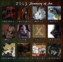 2013 Summary of Art by Marzzunny