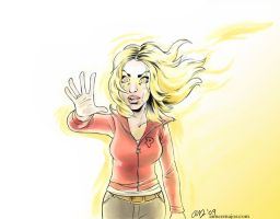Bad Wolf Doctor Who Rose Tyler by aimeekitty