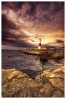 Portland Bill - HDR by Pete-EOS