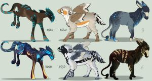 Fantasy Baby Creature Adopts - closed by Ilenora