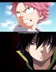 Fairy Tail 445 Brothers Dragneel by kisi86