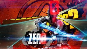 Borderlands 2 Wallpaper - Zero (Red) by mentalmars