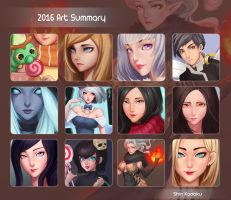 2016 Art Summary by shinekoshin