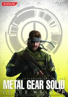 MGS: Peace Walker Poster.1 by B4H