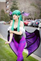 Morrigan Aensland by Crazy-J19