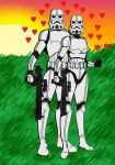 Stormtrooper Couple by LadyIlona1984