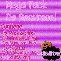 Mega Pack De Recursos! by LylyEditions