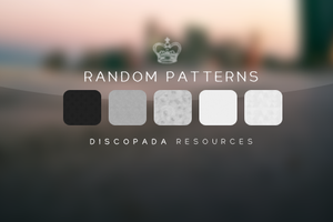 5 Random Patterns by Discopada