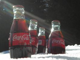 Coca Cola and the sunlight by DILLYbOd