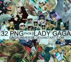 LADY GAGA PNG PACK2 by gagauniverse