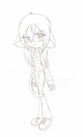 Sketch: Tori the Mouse by Thirza-Hedgie