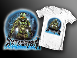 Halo T-shirt design by chrisfurguson