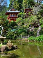 Japanese Tea Garden by PaulWeber