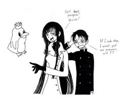 xxxHolic Penguin Caper by SuperheroGeek13