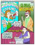 Climate Evolution by Conservatoons