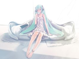 Hatsune Miku 5 by ll4cell