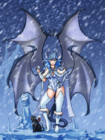 The Infernal Queen of Ice by Blazbaros