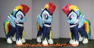 Rainbow Dash as Zap for sale by agatrix